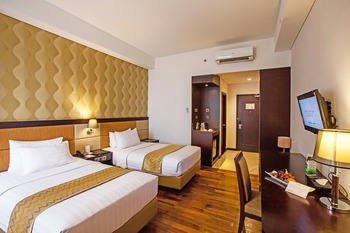 Hotel Beston Palembang Palembang - Deluxe Twin Room Only SPESIAL ROOM ONLY 39%