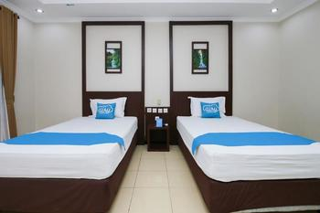Airy Syariah Dr Wahidin 43 Bojonegoro - Deluxe Twin Room Only Special Promo Jan 24