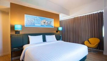Idoop Hotel Lombok - Deluxe Double Room Regular Plan