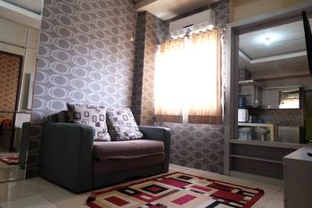 The Suites @Metro Apartemen by Zaky Bandung - Two Bedroom (4 Tamu) Regular Plan