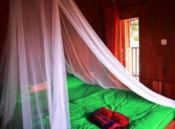 Lesehan Cahaya Tetebatu Inn Lombok - Standard Double Rice Field View Regular Plan