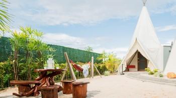 The ANMON Resort Bintan Bintan - Deluxe Private Glamp Tent Regular Plan