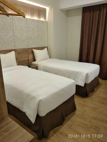 Grand G7 Hotel Jakarta - Standard Twin Room Regular Plan
