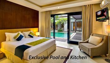 The Nibbana Villas Bali - Three Bedroom Villa with Private Pool and Kitchen 30%-Basic Deal