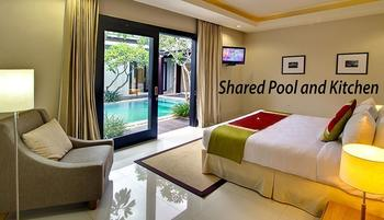 The Nibbana Villas Bali - Two Bedroom Villa with Shared Pool and Kitchen 30%-Basic Deal