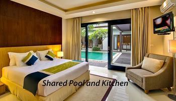The Nibbana Villas Bali - Three Bedroom Villa with Shared Pool and Kitchen 30%-Basic Deal