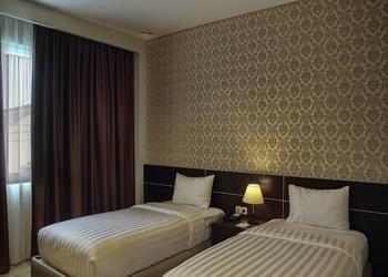 Asoka Luxury Hotel Lampung - Deluxe Twin Room Regular Plan