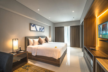 Oakwood Hotel & Residence Surabaya Surabaya - Studio Deluxe Celebrate Love #InsideOakwood Regular Plan