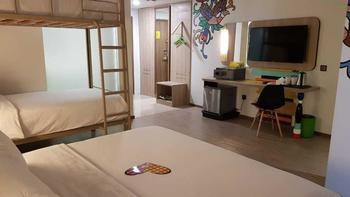 MaxOneHotels at Balikpapan - Love Bunkbed Room Only Regular Plan