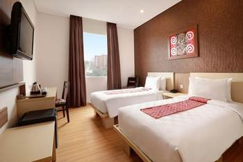 Swiss Belinn Makassar - Superior Twin Room Only Regular Plan