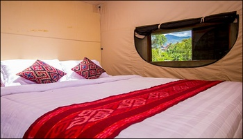 Kapitoo Glamping and Cafe Toraja Utara - Rice Field View with Private Jacuzzi and Breakfast Regular Plan