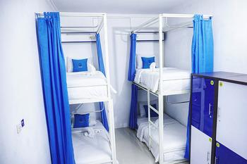 Oase Hostel Yogyakarta Yogyakarta - Family Room 4 bed With Dormitory stile Regular Plan