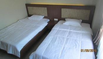 Berlian Guesthouse Syariah Martapura Kabupaten Banjar - Blue Safir Lantai 3 Regular Plan