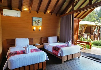 WAH Resort Lombok - Twin with Garden View Regular Plan