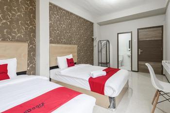 RedDoorz near Grand City Mall 2 Surabaya - RedDoorz Twin Room Last Minute