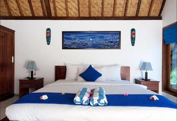 Blue Monkey Villas Areguling Lombok - Kingsize Ocean View Regular Plan