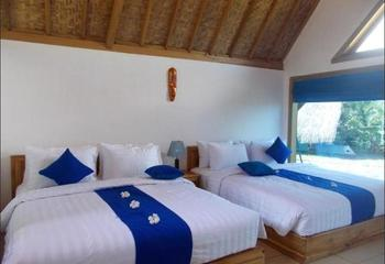 Blue Monkey Villas Areguling Lombok - Family Ocean View Regular Plan