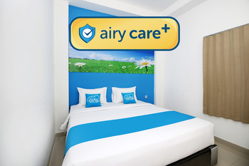 Airy Care+ Eco Syariah Polamas A88 Padang Komplek Polamas A88 - Deluxe Double Room Only Special Promo 12