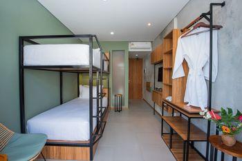 Rimbun Canggu Hotel Bali - Superior Deluxe Twin (Bunk Bed) Kurma Deal