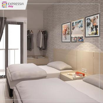 Expressia Stay Tangerang Selatan - Studio Twin Room Only Spesial Deals