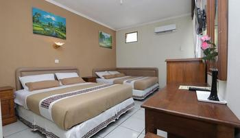Hotel Mataram 1 Yogyakarta - Big Family Room 2 Double Bed Regular Plan