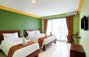 Alkyfa Hotel Bali - Quadruple Room Regular Plan