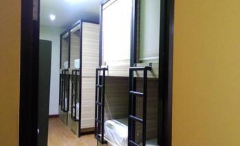 CX Hostel Kuta Raya Bali - Capsule Bed Dormitory (Kamar Berbagi) - Harga Untuk 1 Orang Regular Plan