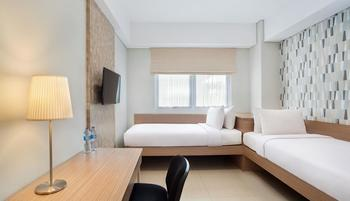 Nite & Day Residence Alam Sutera - Sunny Day Twin Bed Room Only Regular Plan
