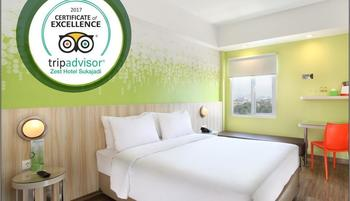 Zest Hotel Sukajadi Bandung - Zest Queen Room Regular Plan