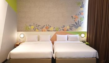 Zest Hotel Sukajadi Bandung - Zest Family Room Regular Plan