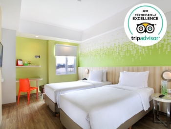 Zest Hotel Sukajadi Bandung - Zest Twin Room Only Isolation Promo