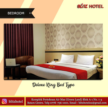BLITZ HOTEL Batam Center Batam - Suite Double Room Only Longstay Deals