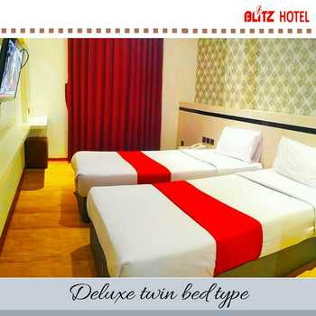 BLITZ HOTEL Batam Center Batam - Deluxe Twin Breakfast Longstay Deals