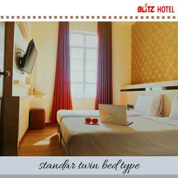 BLITZ HOTEL Batam Center Batam - Standard Twin Breakfast Longstay Deals