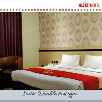 BLITZ HOTEL Batam Center Batam - Suite Double Breakfast Longstay Deals