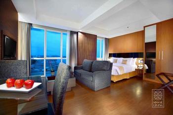 The Malibu Suites Balikpapan Balikpapan - Studio Apartement Regular Plan