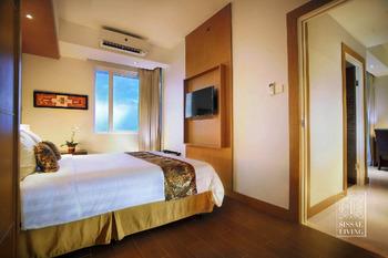 The Malibu Suites Balikpapan Balikpapan - Two Bedroom Junior Suites Apartment Regular Plan