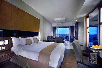 The Malibu Suites Balikpapan Balikpapan - One Bedroom Deluxe Apartement Regular Plan