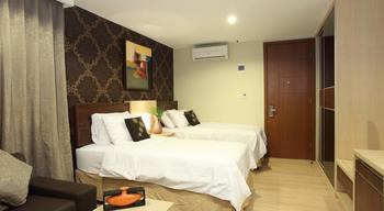 Avissa Suites Jakarta - Deluxe Twin with Breakfast Regular Plan