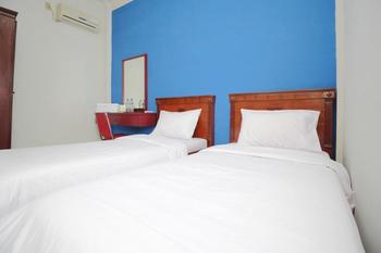 Sky Inn Syariah Medan Sunggal Medan - Deluxe Twin Room Only Regular Plan