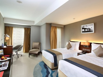 Swiss- Belresidences Rasuna Epicentrum Jakarta - Deluxe Twin Room Regular Plan