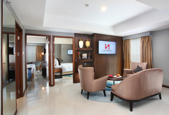 Swiss- Belresidences Rasuna Epicentrum Jakarta - Two Bedroom Suite Room Only with City View Regular Plan