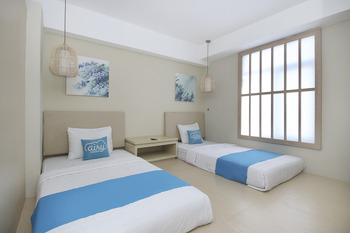 Airy Kuta Galeria Bypass Ngurah Rai 39 Bali - Deluxe Twin Room Only Regular Plan