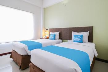 Airy Panakkukang Tree Makassar Makassar - Studio Twin Room with Breakfast Regular Plan