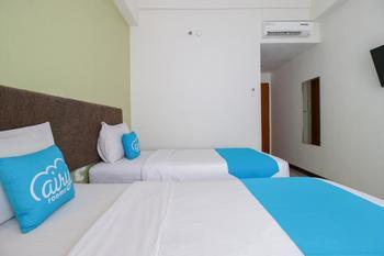 Airy Panakkukang Pandang Raya 12 Makassar - Studio Twin Room with Breakfast Special Promo Jan 24