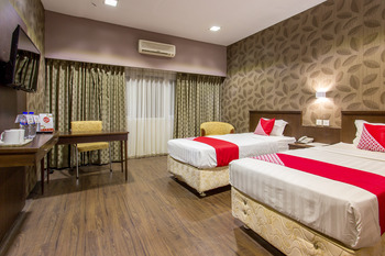 Capital O 769 City Hotel Balikpapan - Suite Twin Regular Plan
