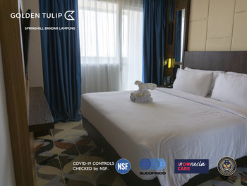 Golden Tulip Springhill Lampung Bandar Lampung - Family Suite Sea View with Balcony Special Deals