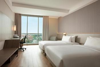 Hotel Santika Premiere Bandara Palembang - Deluxe Twin Room Garden View Ramadhan Offer Regular Plan