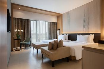 Hotel Santika Premiere Bandara Palembang - Deluxe Twin Room Ramadhan Offer - Gratis Takjil & Sahur Regular Plan
