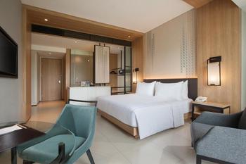 Hotel Santika Premiere Bandara Palembang - Deluxe Twin Room Garden View Staycation Offer Regular Plan